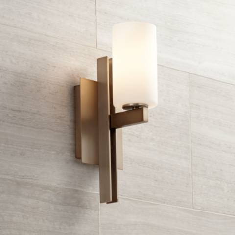 Possini Euro Ludlow 14 Quot High Burnished Brass Wall Sconce