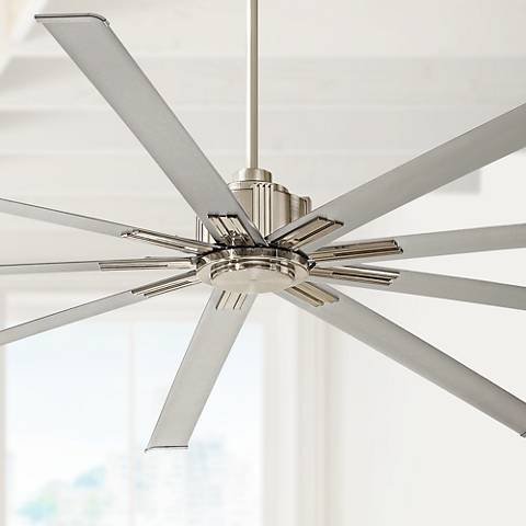 72 Quot Minka Aire Xtreme Brushed Nickel Ceiling Fan 8y400