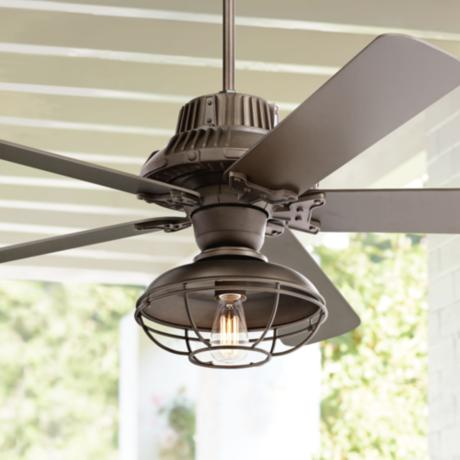 60 Quot Industrial Forge Franklin Park Outdoor Ceiling Fan