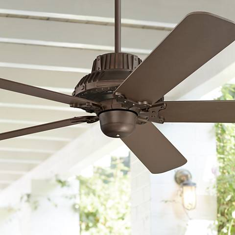 "60"" Industrial Forge™ Casa Vieja Outdoor Ceiling Fan"
