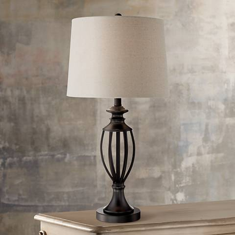 Maxine Open Font Table Lamp