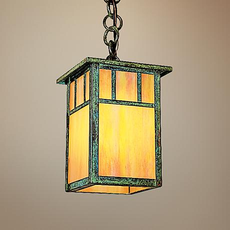 "Huntington 5"" Wide High Pendant Light by Arroyo Craftsman"