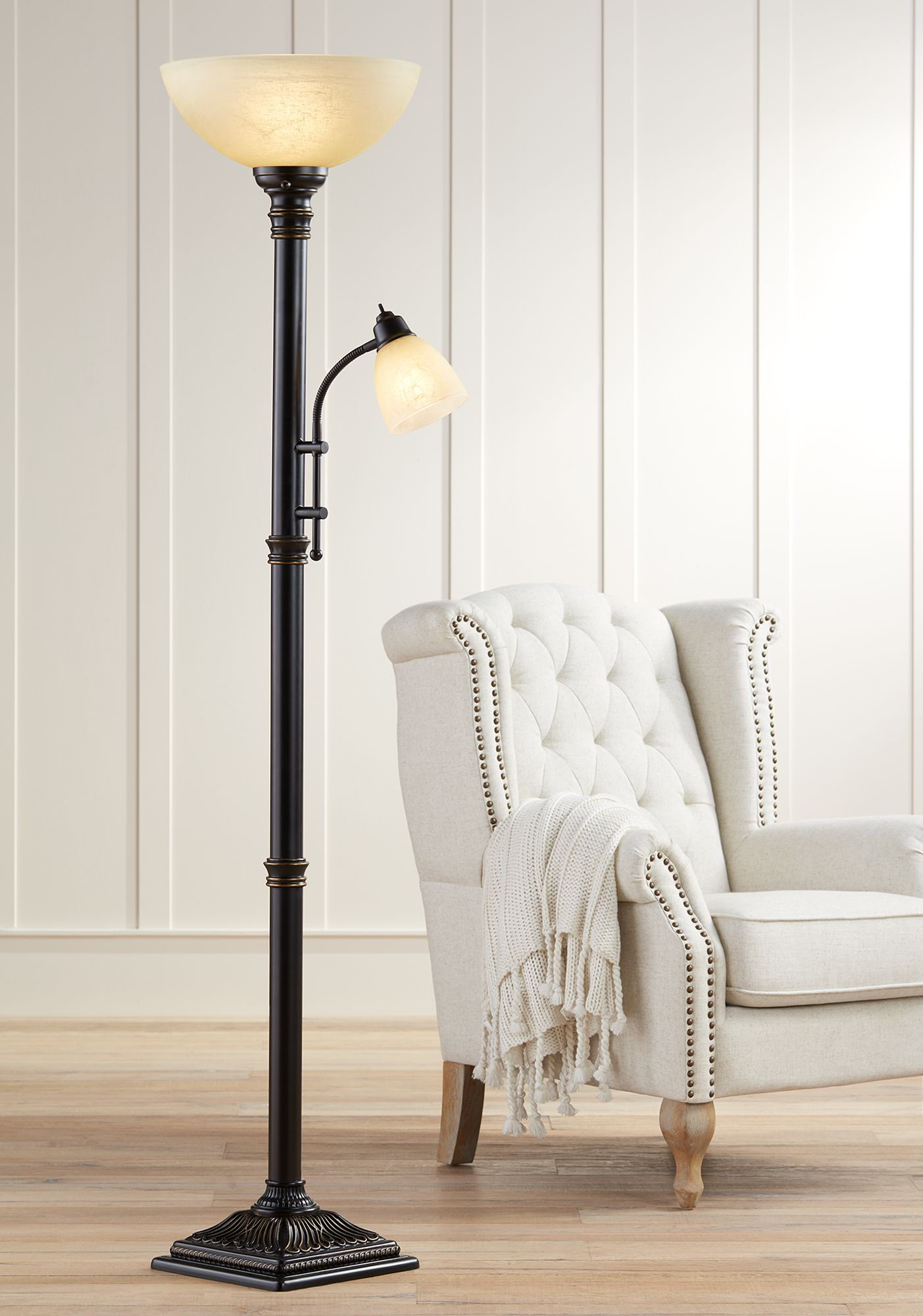 Floor Lamp For Reading Anglepoise Type Floor Lamp Yellow