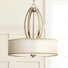 Possini Euro Alecia 22 1 2 Wide French Gold Pendant Light