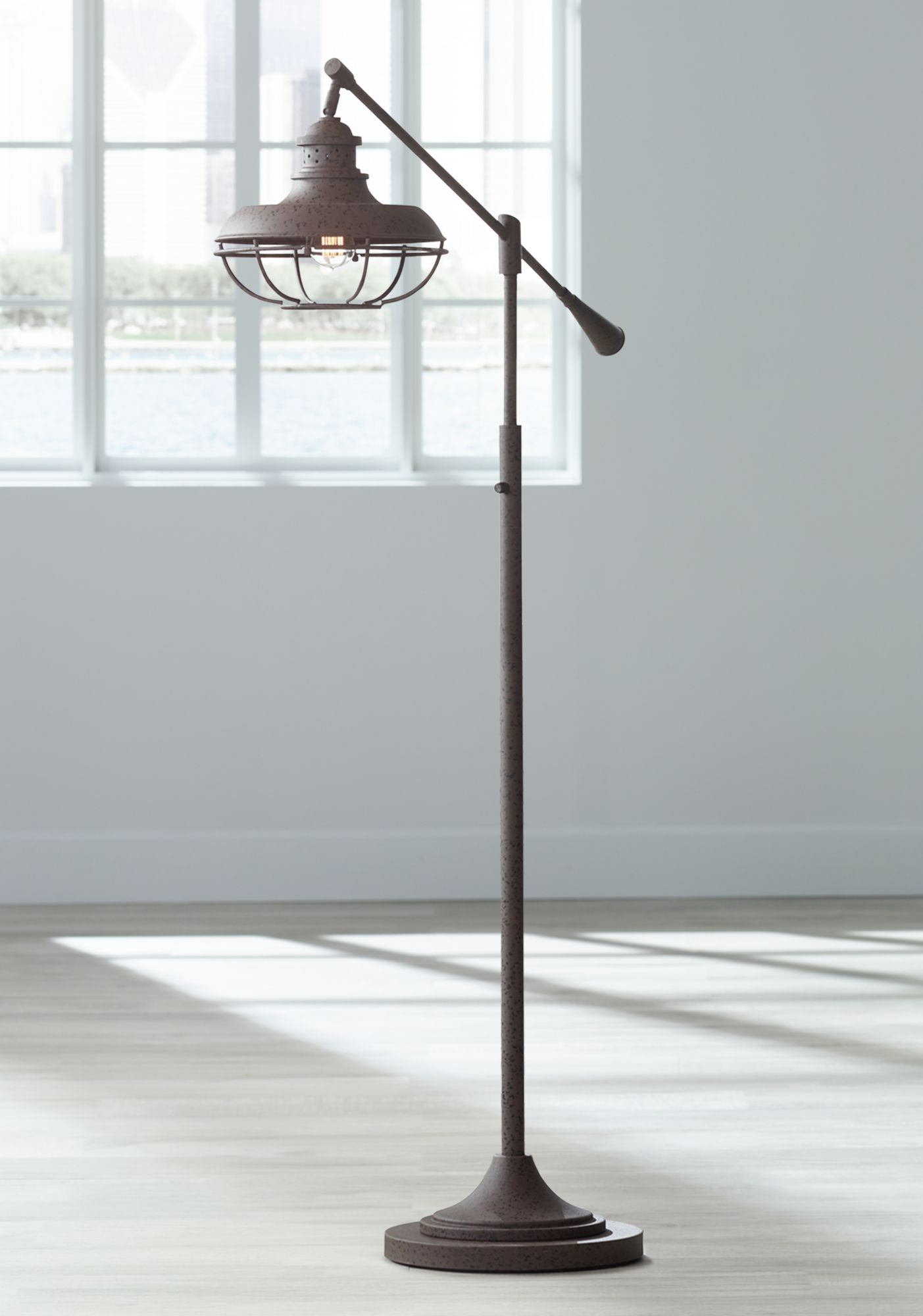 Bronze Arc Floor Lamps Lamps Plus