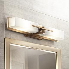Bathroom Vanity Lights Lamps Plus brass bathroom lighting & vanity lights | lamps plus