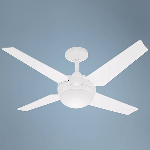 "50"" Hunter Sonic White ENERGY STAR Ceiling Fan"