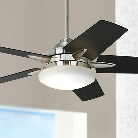 Casa Endeavor® Black-Cherry Teak Blades Ceiling Fan