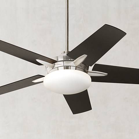 Casa Endeavor® Brushed Nickel Espresso Ceiling Fan
