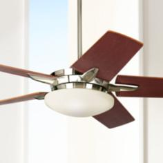 "52"" Casa Endeavor® Brushed Nickel Ceiling Fan"