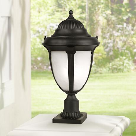 "Casa Sorrento™ 20 3/4"" High Black Outdoor Post Light"