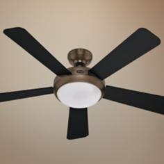 "52"" Palermo Brushed Bronze Ceiling Fan"