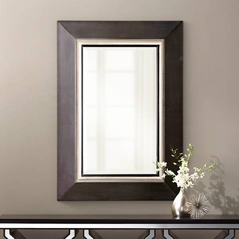 "Uttermost Whitmore Vanity 39"" High Wall Mirror"