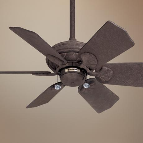 "31"" Casablanca Wailea Rustic Iron Ceiling Fan"