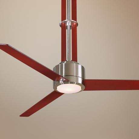 "56"" Minka Aire Flyte Brushed Nickel Ceiling Fan"