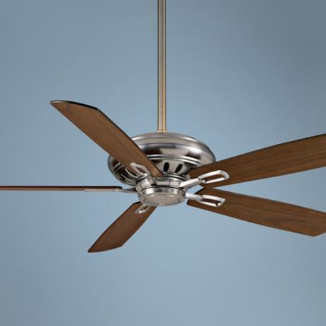 "60"" Casablanca Holliston Brushed Nickel Ceiling Fan"