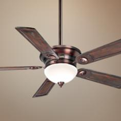 "54"" Casablanca Whitman Bronze Patina Ceiling Fan"