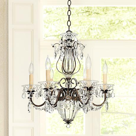 "Schonbek Bagatelle Collection 21"" Wide Crystal Chandelier"