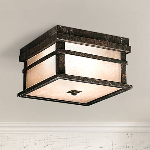 "Kichler Cross Creek 5 1/2"" High Ceiling Light Fixture"