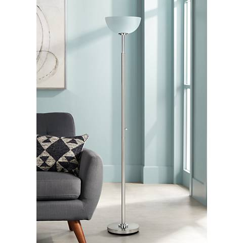 Possini Euro Design Light Blaster® Torchiere Floor Lamp