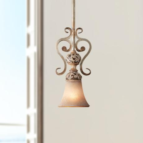Jessica McClintock's Salon Grand  Leaf Mini Chandelier
