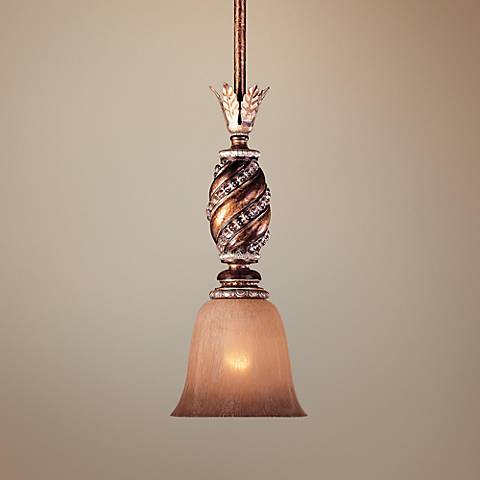 "Aston Court Collection 6 1/4"" Wide Mini Pendant Chandelier"