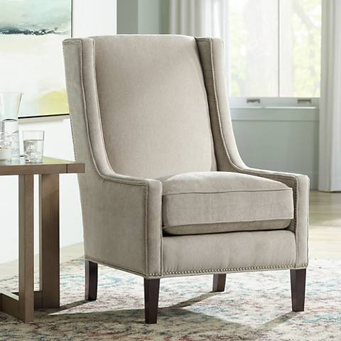 Kobi Barlow Smoke Accent Chair