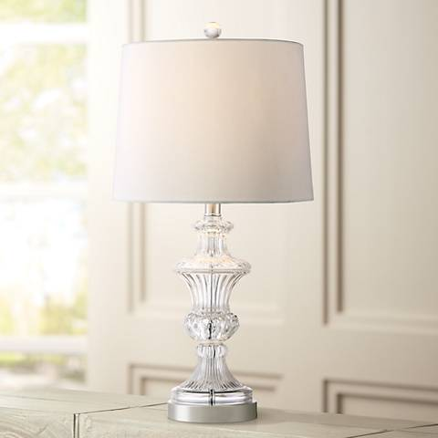 Marta Cut Crystal Table Lamp