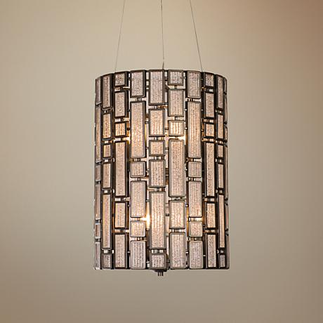 "Varaluz Harlowe 14"" Wide New Bronze Pendant Light"