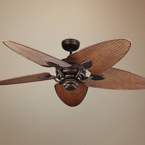 "56"" Peninsula Roman Bronze Wet-Rated Ceiling Fan"