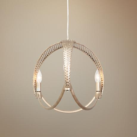 "Varaluz Casablanca 16"" Wide Zen Gold Pendant Light"