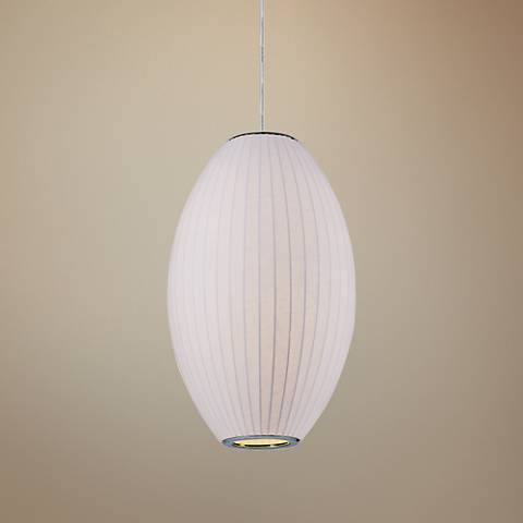 "Maxim Cocoon 15"" Wide Polished Chrome Pendant Light"