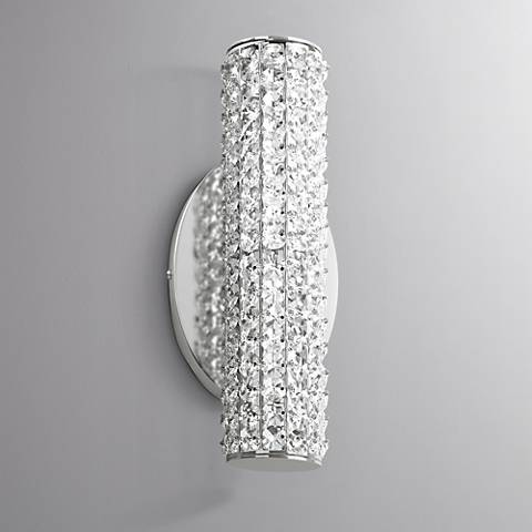 "Maxim Meteor 5 1/2"" High Polished Chrome LED Wall Sconce"