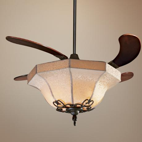 "43"" Fanimation Air Shadow  Oil Rubbed Bronze Ceiling Fan"