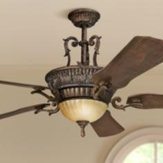 "60"" Kimberley Berkshire Bronze Ceiling Fan"