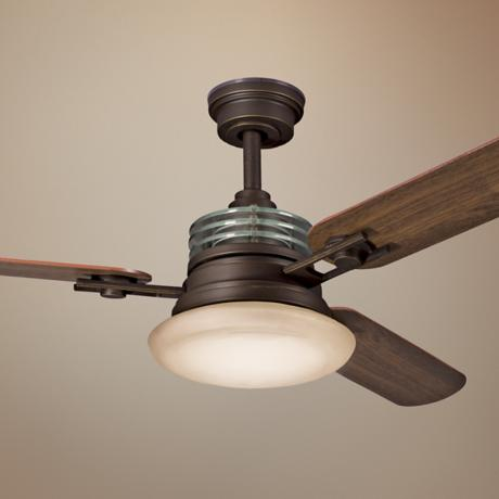 "52"" Structures Olde Bronze Ceiling Fan"