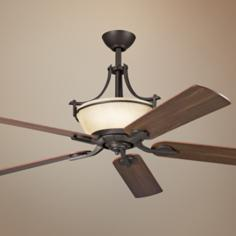 "60"" Olympia Olde Bronze Ceiling Fan"