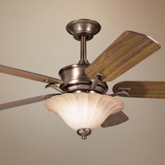 "52"" Humboldt Oiled Bronze Ceiling Fan"