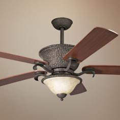 "56"" High Country Olde Iron Ceiling Fan"
