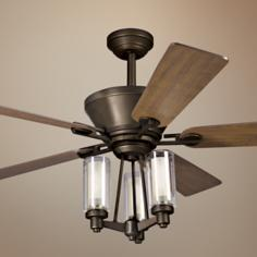 "52"" Kichler Circolo Collection Olde Bronze Ceiling Fan"