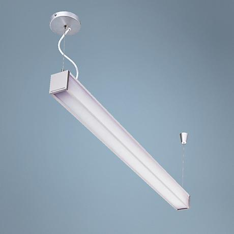 "Lite Source White Lidia Fluorescent 3"" Deep Ceiling Light"