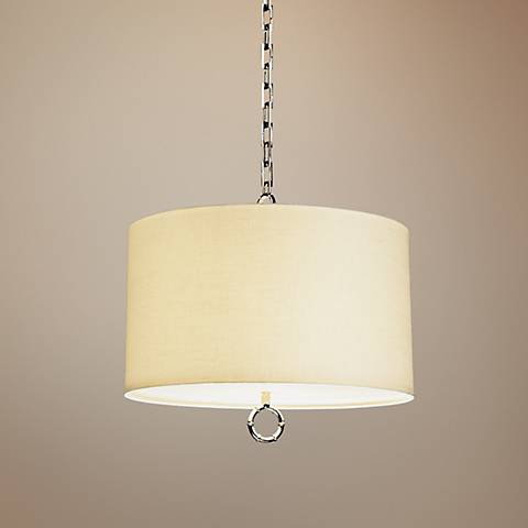 Jonathan Adler Meurice Collection Large Nickel Pendant Light