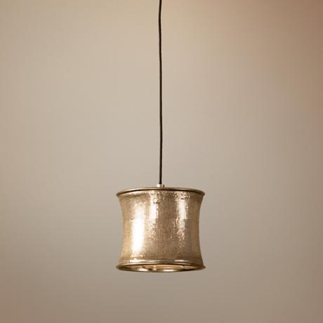 Marcel Collection Champagne Mini-Pendant
