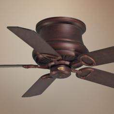 "52"" Madison Bronze Hugger Ceiling Fan"
