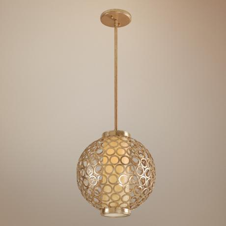 "Bangle Collection 12"" Wide Pendant Chandelier"
