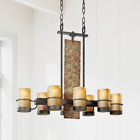 "Jabandi Collection 36"" Wide 8-Light Chandelier"