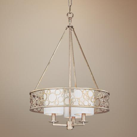 "Bubblini Collection 18 1/2"" Wide 3-Light Chandelier"