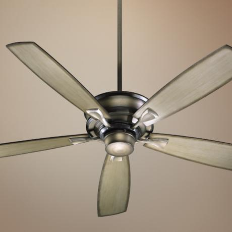 "60"" Quorum Alton Collection Antique Flemish Ceiling Fan"