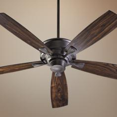 "60"" Quorum Alton Collection Toasted Sienna Ceiling Fan"