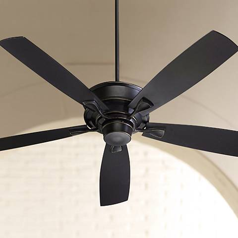 "60"" Quorum Alton Collection Old World Finish Ceiling Fan"